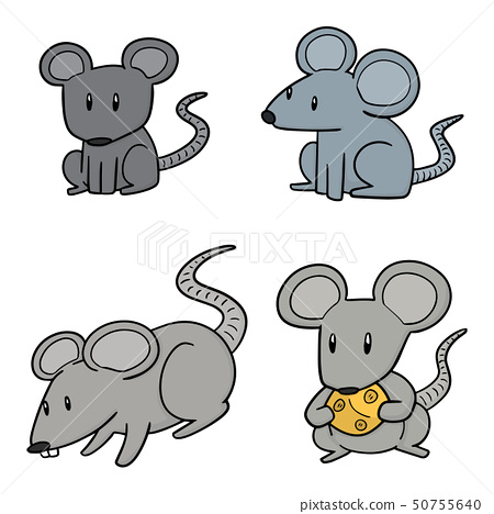 vector set of mouse 50755640
