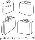 서류, 가방, 벡터 50755670