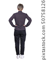 rear woman hands on hips 50758126