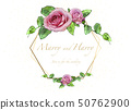 Floral Wedding Invitation 50762900