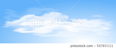 Blue sky with cloud background 50765111