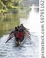 CAMBODIA SIEM REAP CITY RIVER LONGBOAT 50765162