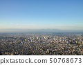 Sapporo city distant view from Moiwayama 50768673