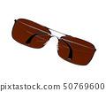 Sunglasses. 3d rendering illustration 50769600