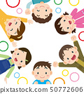 Children circle images background 50772606