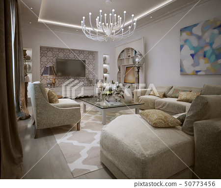 Living in the Moroccan style. 50773456