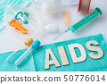 Aids, HIV Concept. Healthcare and medical concept. 50776014