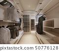 Luxury wardrobe in modern style 50776128
