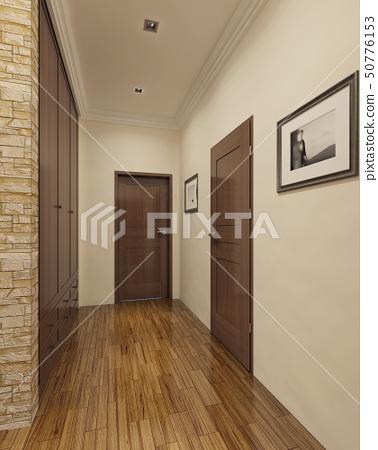 Modern style entrance 50776153