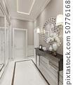 Bright Hallway Art Deco style 50776168