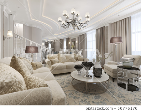 Luxury studio interior 50776170