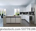 Modern design kitchen interior 50776186