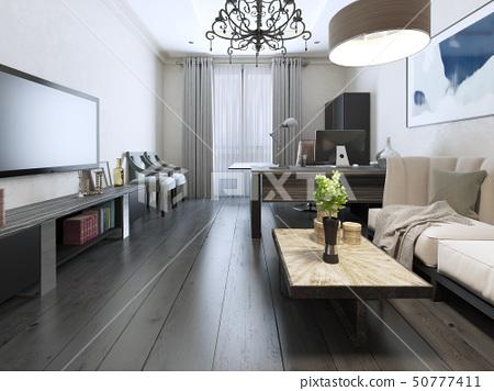Negotiation room modern interior 50777411