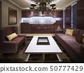 Classical design of living room 50777429