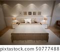 卧室 室内装饰 床 50777488
