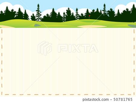 高爾夫球場針框架 50781765