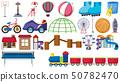 Set of playground tools 50782470
