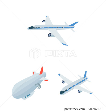 Vector design of transport and object sign. Set of transport and gliding  stock vector illustration. 50782636