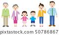 三代家庭的例證 50786867