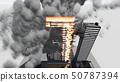 건물 화재 CG3 50787394
