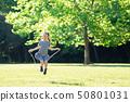 줄넘기 놀이 여자 50801031
