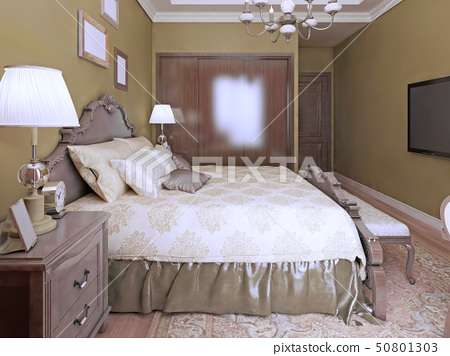 Idea of modern bedroom english style 50801303