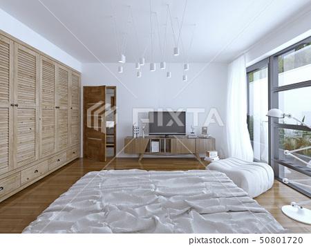 Hotel bedroom design 50801720