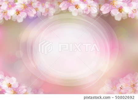 Vector floral pink background. 50802692