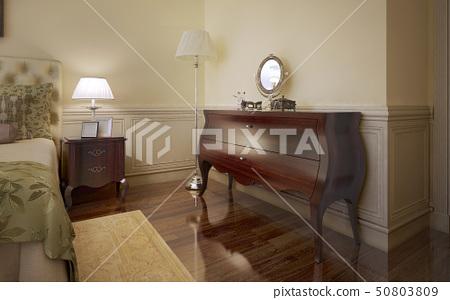 Modern bedroom trend 50803809