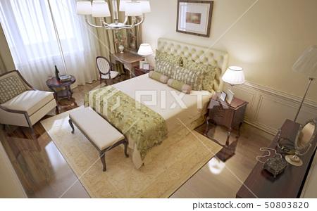Idea of classic bedroom 50803820