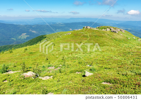 beautiful mountain landscape in summertime 50806431