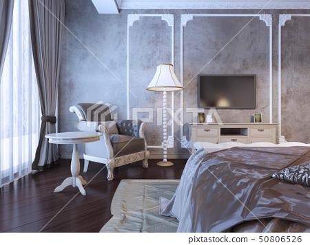 Hotel bedroom interior 50806526