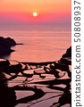 พระอาทิตย์ตกของระเบียงข้าวของ Hamanoura 50808937