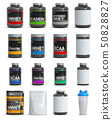 Sport nutrition containers. Set  50828827