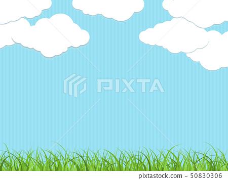 藍天和雲彩 50830306