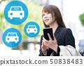 女人叫出租車 50838483