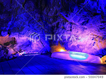 Blue cave in the sanctuary 50847049