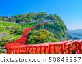Superb view spot Motonosumi Shrine of Golden Week [Yamaguchi Prefecture] 50848557