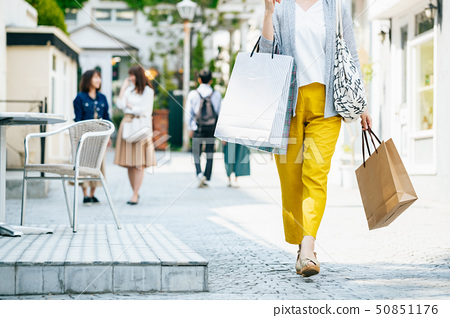 Woman housewife shopping lifestyle 50851176