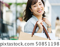 婦女主婦購物生活方式 50851198