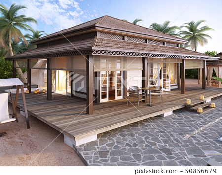 Large luxury bungalows on the islands. 50856679