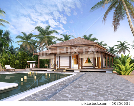 Large luxury bungalows on the islands. 50856683