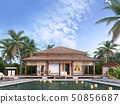 Large luxury bungalows on the islands. 50856687