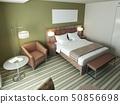 Contemporary bedroom design 50856698
