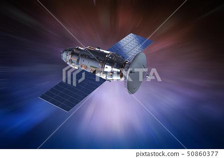 Satellite dish with antenna 50860377