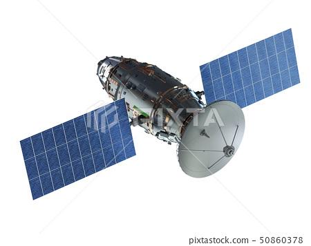 Satellite dish with antenna 50860378