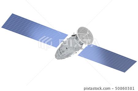 Satellite dish with antenna 50860381