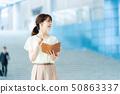 女性僱員女商人企業圖像職業婦女 50863337