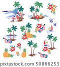 해변의 일러스트 소재, 50866253