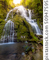 Waterfall in tropical forest 50947595